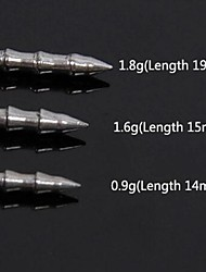 trulinoya веса 22pcs стали вольфрама вставки привести Грузило 3bags 0,9 г / 1,6 г / 1,8 г