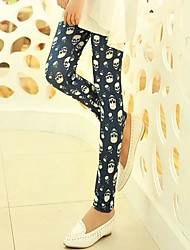 Women's Casual Skull Leggings