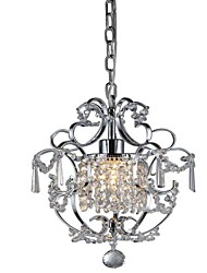 Modern Crystal Pendant Light Max 1*60W