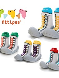 Attipas Super Lightweight Baby Girls Boys Infant Middle Tube Sneakers Shoes Anti-slip First Walker Toddler Sports Shoes