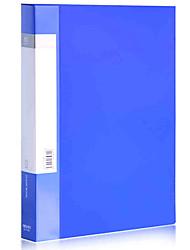 5106 A4 60 páginas carpeta de plástico