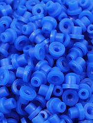 ITATOO™ 100pcs Blue Tattoo Grommets Rubber Tattoo Nipples for Tattoo Needles