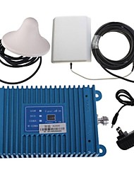 Intelligence LCD Display 3G990 2100Mhz Mobile Cell Phone Signal Booster Amplifier + Antenna Kit