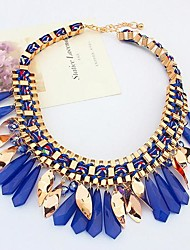 Tina -- Korean Beautiful Fashion Resin Necklace in Party