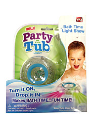 Kids Bath Funny LED Light Toy Party in the Tub Make Bath Time Fun Color Changing
