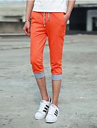 Shorts ( Orange , Baumwolle ) - für Freizeit - für MEN
