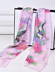 Lady's Fashion Retro Flower Scarf Shawls(Assorted Color)