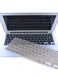 Gold-Plastic Ultra Thin Soft Keyboard Protector Cover Skin for MacBook Pro Retina 13.3/15.4""