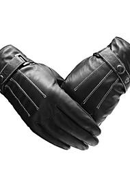 pures des gants tactiles mouton entier de palmiers pour les hommes