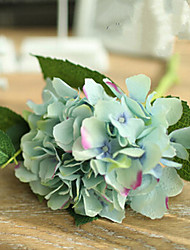 Two Blue Green Hyfrangeas Artifical Flowers