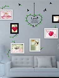 Wall Stickers Wall Decals, Photo Frame Stickers EVA Wall Stickers