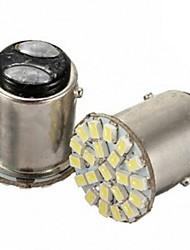 2pcs Car led S25 p21/5w 1157 BAY15D 22 LED SMD 22SMD 3020SMD Auto Brake Stop Light Bulbs Lamp
