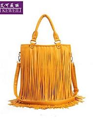 AIKEWEILI®Women's Handbag Fashion Korean Style Tassels Crossbody Bag Casual Hopo Shoulder Bag Travel Shopping Bags