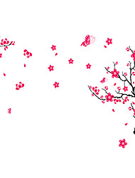 Wall Stickers Wall Decals, Style Peach Blossom PVC Wall Stickers