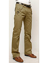 Pantalones ( Algodón Compuesto )- Casual Sin Mangas