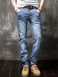 Men's Pure Pant , Cotton/Denim/Polyester Casual