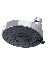 Showering Replacement 4-Inch Shower Head Fixed Mount FIVE Function, Polished Chrome