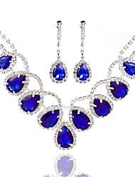 Ladies'/Women's Alloy Wedding/Party Jewelry Set With Pearl/Rhinestone