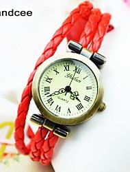 handcee® Frauenarmbanduhrquarz-analoge Anhänger Designs