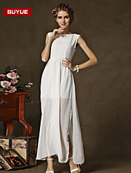 Suyue® High Quality Women's   Sexty Finery  Slim Chiffon  Maxi Dress
