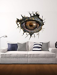 3D Wall Stickers Wall Decals, Monster Eye Decor Vinyl Wall Stickers