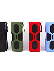 mini alto-falante ao ar livre sem fio Bluetooth 4.0 NFC portátil a6 com banco de potência para iphone + mais
