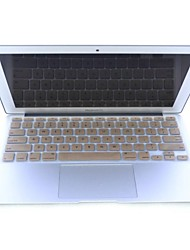 "Gold-Plastic Ultra Thin Soft Keyboard Protector Cover Skin for MacBook Air 11""/11.6"""