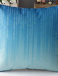 azul números digitais estilo moderno modelado algodão / linho fronha decorativo