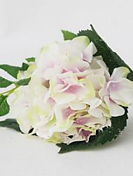 hortensias de lavande avec des fleurs artificielles bourgeon set 2