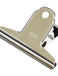 clip in metallo silver (8pcs)