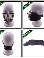 MA-26H  The Mouth Mask For Ghosts Skull CS Skiing Face Mask