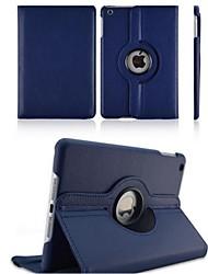 360⁰ Cases/Casos de Origami (Pele PU , Vermelho/Preto/Verde/Azul/Castanho/Rosa/Roxo) - Côr Única -Para Maçã iPad 2/iPad 4/iPad 3