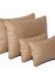 Astro Boy pu memória lenta recuperação almofada do assento de carro de espuma, almofada de proteção da cintura, travesseiro 4pcs / set