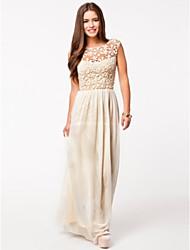 Chaoliu Women's Sexy Backless Long Dress