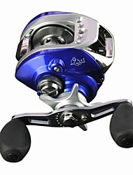 10 Ball Bearings Left-handed  Baitcasting Reel /Sea Fishing/Fly Fishing/Boat Fishing Baitcast Reels