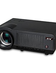 HTP 1280x800 WIFI 2800Lumens LCD Projector with  HDM*2/VGA/AV/YPBPR/HD USB*2/AUDIO IN (LED-86)