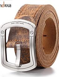 cinto allfond homens do vintage / bonito / partido / trabalho / liga casual / pelica de couro fivela / cintura 1520-001