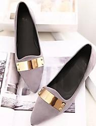 charme da moda sapatos de salto plana das mulheres zicqfurl