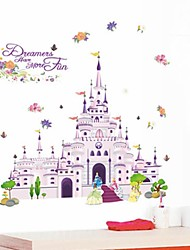 Cartoon Wall Stickers Plane Wall Stickers Decorative Wall Stickers,Vinyl Material Removable Home Decoration Wall Decal