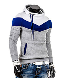 causal do hoodie magro dos homens zj.sm