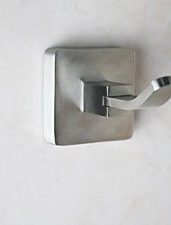 304 Stainless Steel Bathroom Clothes Hook - Silver