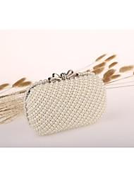 Damen Veranstaltung / Fest Abendtasche Weiß Elfenbein