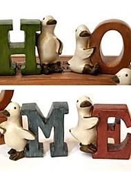 mariage résine décor la maison de canard décoration