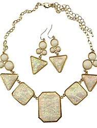 Women's Alloy Jewelry Set Non Stone