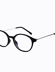 [Free Lenses] Round Full-Rim Computer Eyeglasses