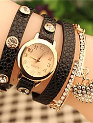 Women's 2015 The Latest Fashion Crystal heart Leather  Quartz Watch Hot Sale(Assorted Colors) Cool Watches Unique Watches