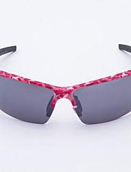 ciclismo antivento occhiali sportivi plastica rettangolo di moda