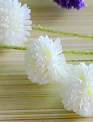 cinq hygrangeas White Head artificielle fleurs pack 2