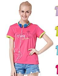 Femme Hauts/Tops / T-shirtCamping & Randonnée / Pêche / Escalade / Fitness / Courses / Sport de détente / Badminton / Football /