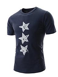 nouveaux col rond manches courtes T-shirts hommes de Dick